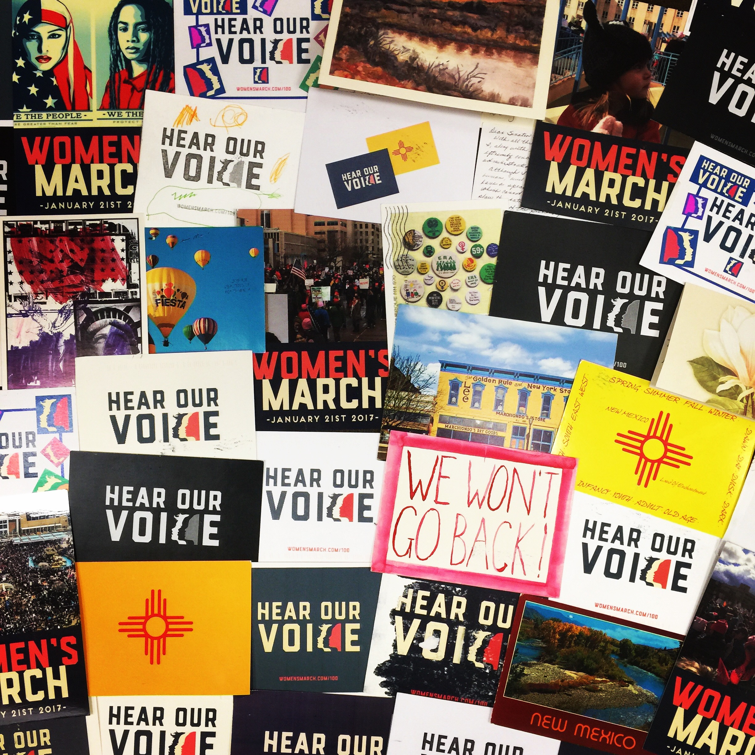 Why I March Postcards From New Mexico