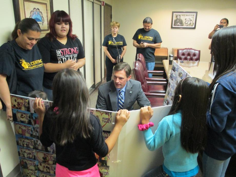 Heinrich Meets with DREAMers and Parents in his Albuquerque Office