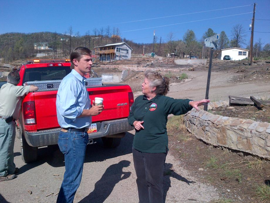 Touring the Rebuilding Efforts from the Little Bear Fire in Lincoln